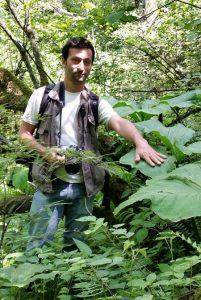 <strong>David Scherberich: Responsable des collections au Jardin botanique de Lyon.</strong></div>